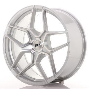 JR Wheels JR34 20x9 ET20-40 5H BLANK Silver Machined Face