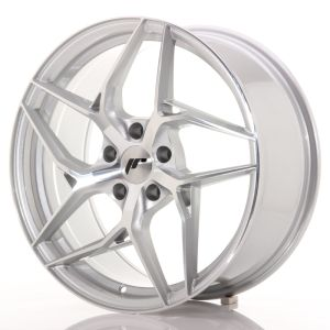 JR Wheels JR35 19x8,5 ET20-45 5H BLANK Silver Machined Face