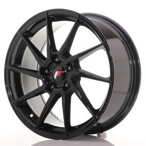 JR Wheels JR36 18x8 ET35 5x120 Gloss Black