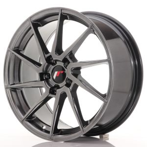 JR Wheels JR36 18x8 ET45 5x112 Hyper Black