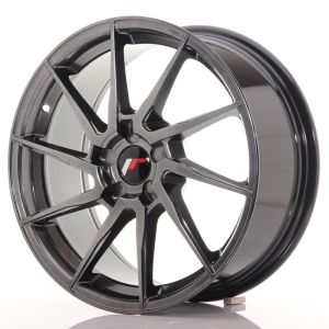 JR Wheels JR36 18x8 ET20-52 5H BLANK Hyper Black