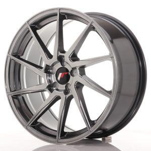 JR Wheels JR36 19x8,5 ET20-50 5H BLANK Hyper Black