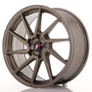 JR Wheels JR36 19x8,5 ET20-50 5H BLANK Matt Bronze