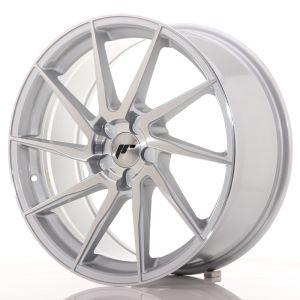 JR Wheels JR36 19x8,5 ET20-50 5H BLANK Silver Brushed Face