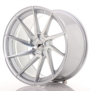JR Wheels JR36 20x10,5 ET10-35 5H BLANK Silver Brushed Face