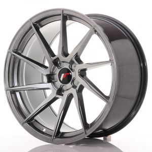 JR Wheels JR36 20x10 ET20-45 5H BLANK Hyper Black