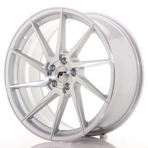 JR Wheels JR36 20x9 ET38 5x112 Silver Brushed Face