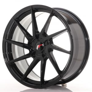 JR Wheels JR36 20x9 ET15-42 5H BLANK Gloss Black