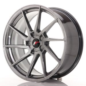 JR Wheels JR36 20x9 ET15-42 5H BLANK Hyper Black