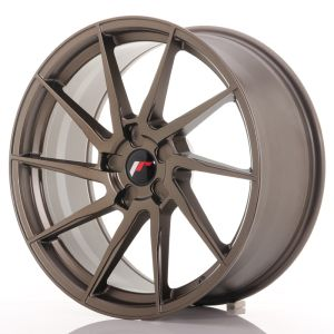 JR Wheels JR36 20x9 ET15-42 5H BLANK Matt Bronze
