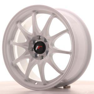 JR Wheels JR5 16x7 ET30 4x100/108 White