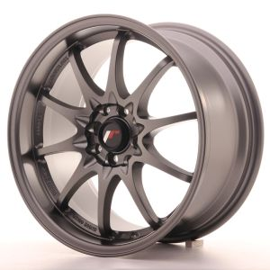 JR Wheels JR5 17x8,5 ET35 5x100/114,3 Matt Gun Metal