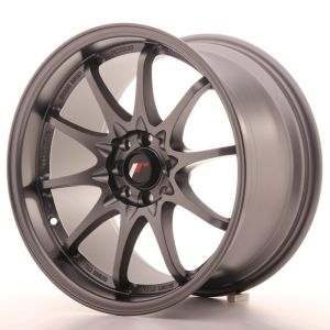 JR Wheels JR5 17x9,5 ET35 5x100/114,3 Matt Gun Metal