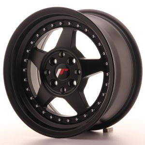 JR Wheels JR6 15x7 ET35 4x100/114 Matt Black