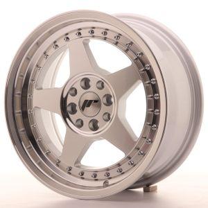 JR Wheels JR6 16x7 ET35 4x100/114 Silver Machined Face