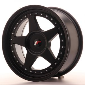 JR Wheels JR6 17x8 ET35 BLANK Matt Black