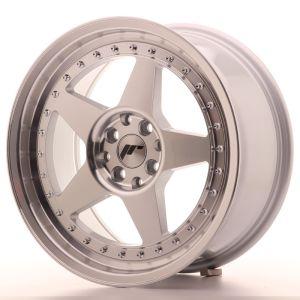JR Wheels JR6 17x8 ET20 4x100/108 Silver Machined Face