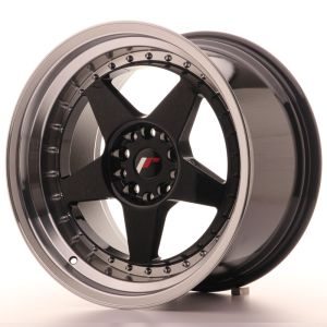 JR Wheels JR6 18x10,5 ET25 5x114,3/120 Gloss Black w/Machined