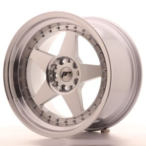 JR Wheels JR6 18x10,5 ET25 5x114,3/120 Silver Machined Face