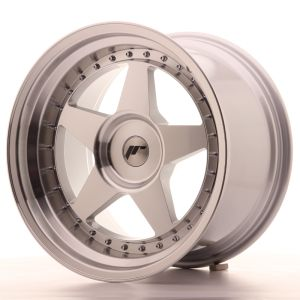 JR Wheels JR6 18x10,5 ET0-25 BLANK Silver Machined Face