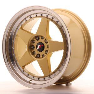 JR Wheels JR6 18x9,5 ET22 5x114,3/120 Gold w/Machined Lip