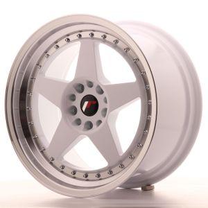 JR Wheels JR6 18x9,5 ET22 5x114,3/120 White w/Machined Lip