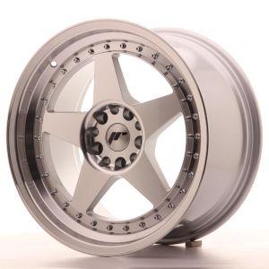 JR Wheels JR6 18x9,5 ET35 5x100/120 Silver Machined Face