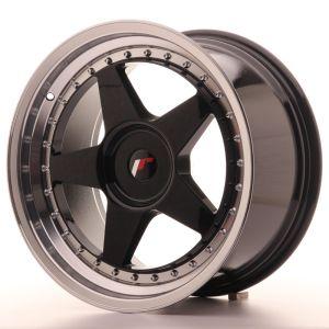 JR Wheels JR6 18x9,5 ET35-40 BLANK Gloss Black w/Machined