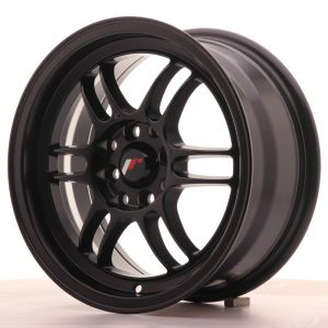 JR Wheels JR7 15x7 ET38 4x100/114 Matt Black