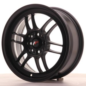 JR Wheels JR7 16x7 ET38 4x100/114 Matt Black
