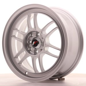 JR Wheels JR7 16x7 ET38 4x100/114 Silver