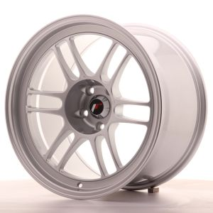 JR Wheels JR7 18x10,5 ET15 5x114,3 Silver