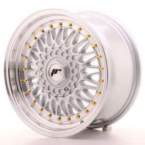 JR Wheels JR9 16x8 ET25 BLANK Silver w/Machined Lip