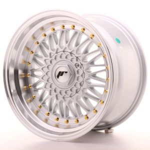 JR Wheels JR9 17x10 ET20 4x100/108 Silver w/Machined Lip