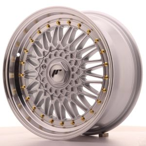 JR Wheels JR9 17x7,5 ET20 4x100/108 Silver w/Machined Lip