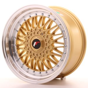 JR Wheels JR9 17x8,5 ET35 5x100/114 Gold w/Machined Lip