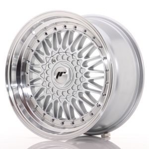 JR Wheels JR9 17x8,5 ET20 5x112/120 Silver w/Machined Lip+Silver Rivets