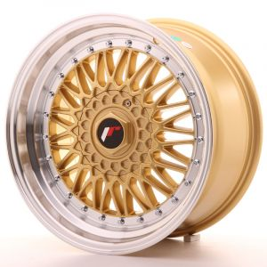 JR Wheels JR9 17x8,5 ET35 5x112/120 Gold w/Machined Lip