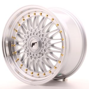 JR Wheels JR9 18x9 ET40 5x112/114 Silver w/Machined Lip