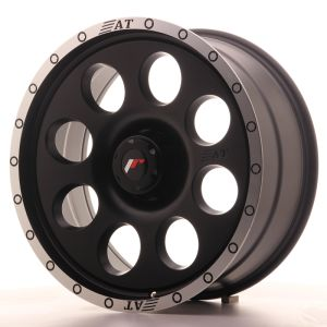 JR Wheels JRX4 20x9 ET0-25 6H BLANK Matt Black w/Machined Lip